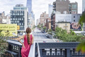 Chica en la ciudad / Urban girl