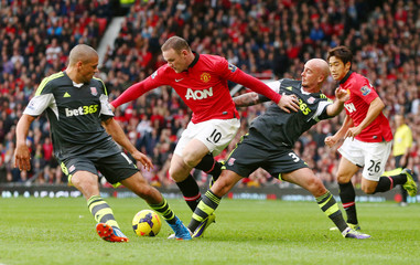 Manchester United v Stoke City - Barclays Premier League