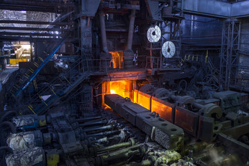 Iron and steel works factory