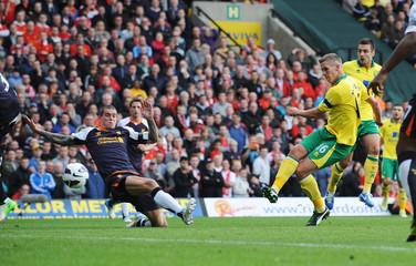 Norwich City v Liverpool - Barclays Premier League