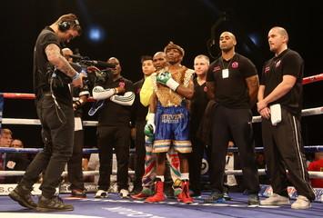 Stuart Hall v Vusi Malinga IBF World Bantamweight Title