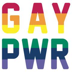 Gay Power GAY PWR