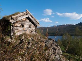 Seehütte in Norwegen