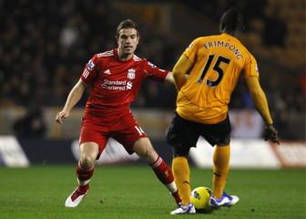 Wolverhampton Wanderers v Liverpool Barclays Premier League