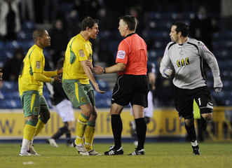 Millwall v Norwich City npower Football League Championship