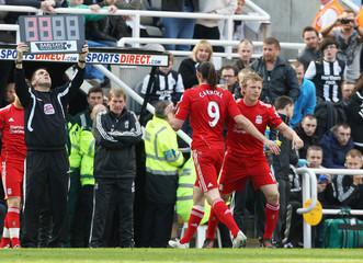 Newcastle United v Liverpool Barclays Premier League