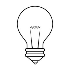 isolated bulb icon vector illustration graphic design