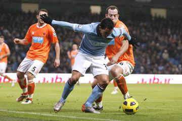 Manchester City v Blackpool Barclays Premier League