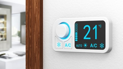 Raumthermostat digital - air condition - Raum