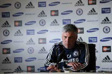 Chelsea - Carlo Ancelotti Press Conference