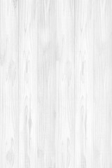 White wooden wall background or texture