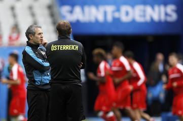Austria Training - EURO 2016