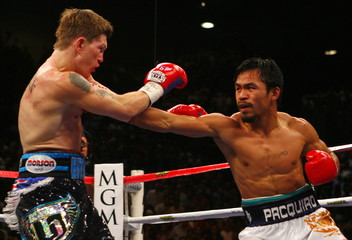Ricky Hatton v Manny Pacquiao IBO Light-Welterweight Title
