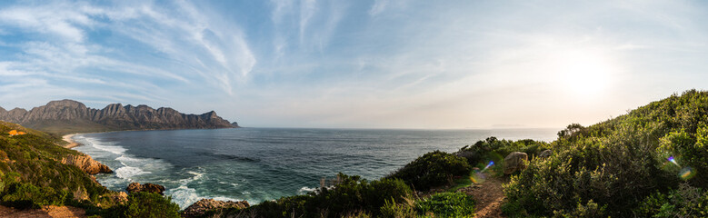 Driving along the Garden Route (near Cape Town)