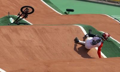 Cycling BMX - Men's BMX Quarterfinals