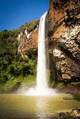 Waterfall Chuvisqueiro, Riozinho - RS - Brazil