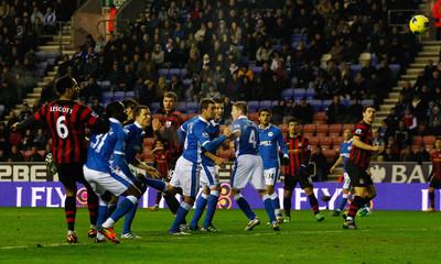 Wigan Athletic v Manchester City Barclays Premier League