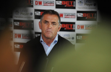 New Wigan Atheletic manager Owen Coyle during the press conference