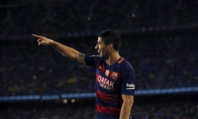 Football Soccer - Barcelona v Sporting Gijon - Spanish Liga BBVA - Camp Nou stadium, Barcelona