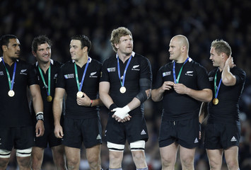 New Zealand v France IRB Rugby World Cup Final 2011
