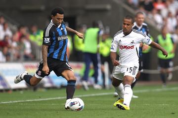 Swansea City v Stoke City Barclays Premier League