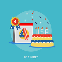 USA Party Conceptual Design