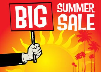 Summer Sale design template.