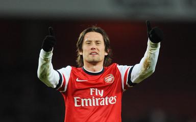 Arsenal v West Bromwich Albion - Barclays Premier League