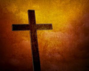 cross grunge background, worship background