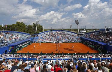 Croatia v Great Britain - Davis Cup World Group Play-Off