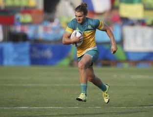 Rugby - Preliminary - Men's Pool B Australia v Spain