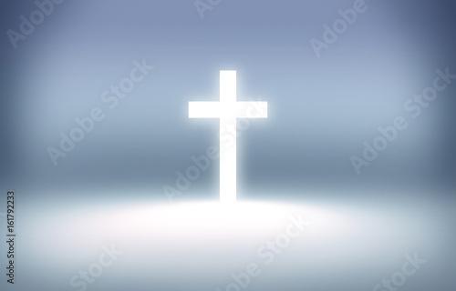 cross soft background, worship background