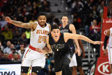 NBA: Phoenix Suns at Atlanta Hawks