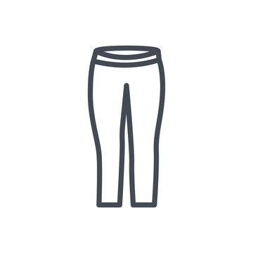 Yoga Leggins Pants Clothes Colored Icon