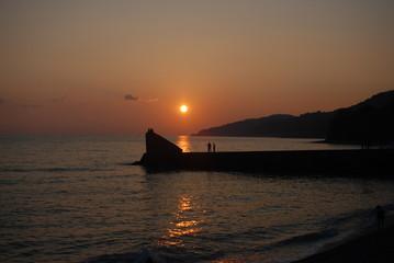 sunset see summer