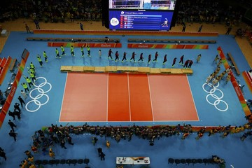 Volleyball - Men's Victory Ceremony