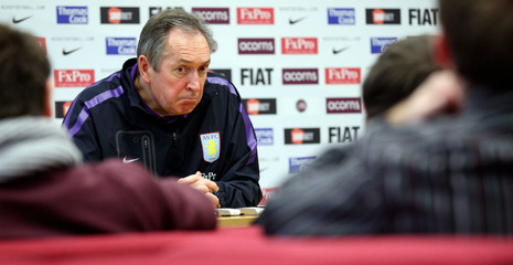 Aston Villa - Gerard Houllier Press Conference
