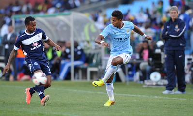 Supersport United v Manchester City - Nelson Mandela Football Invitational - Pre Season Friendly