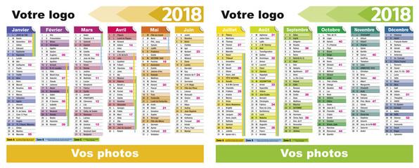 Calendrier 2018-30