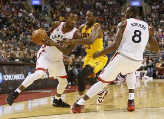 NBA: Preseason-Cleveland Cavaliers at Toronto Raptors