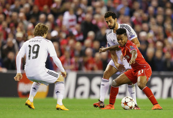 Liverpool v Real Madrid - UEFA Champions League Group Stage Matchday Three Group B