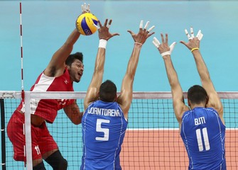 Volleyball - Men's Preliminary - Pool A Italy vs Mexico