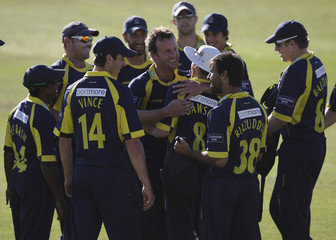 Warwickshire Bears v Hampshire Royals Clydesdale Bank 40 Group C