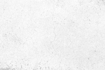 White Crack Wall Texture Background.