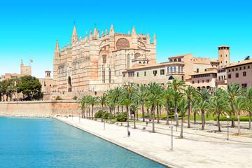 Poster Europese Plekken Kathedrale, Palma, Mallorca, Majorca, Spanien