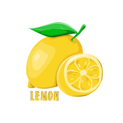 logo icon design Lemon farm