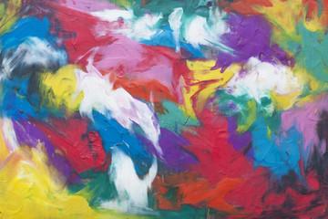 Colored background of plasticine