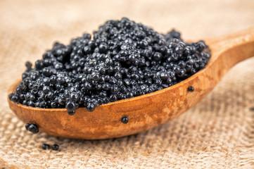 delicious black caviar