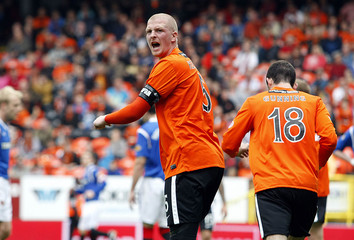 Garry Kenneth - Dundee United reacts angrily