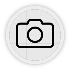 Icon Schaltfläche - Digitalkamera